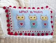 HS Needlepoint/Tapestry Sampler Cushion Kit – What a Hoot