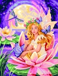 Royal Paris Tapestry/Needlepoint - The Fairy (La Fée)