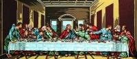 Margot de Paris Tapestry/Needlepoint –  The Holy Communion/The Last Supper