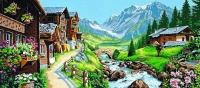 Margot de Paris Tapestry/Needlepoint – Alpine Village