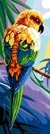 Margot de Paris Tapestry/Needlepoint – Bird on a Branch