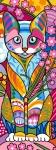 Margot de Paris Tapestry/Needlepoint – Cat (Chat)