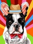 Margot de Paris Tapestry/Needlepoint – Dog in Sunday Best