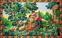 Margot de Paris Tapestry/Needlepoint - Green Inspiration