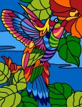 Margot de Paris Tapestry/Needlepoint - Humming Bird