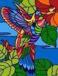 Margot de Paris Tapestry/Needlepoint - Humming Bird