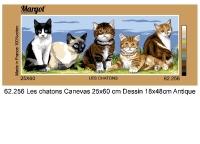 Margot de Paris Tapestry/Needlepoint – Kittens