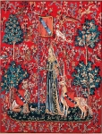 Margot de Paris Tapestry/Needlepoint – Lady and the Unicorn/Touch