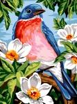 Margot de Paris Tapestry/Needlepoint – Spring Feathers