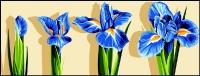 Margot de Paris Tapestry/Needlepoint – Sprouting Iris