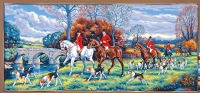 Margot de Paris Tapestry/Needlepoint – The Day of the Hunt