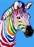Margot de Paris Tapestry/Needlepoint – The Zebra Stripes