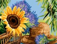 Margot de Paris Tapestry/Needlepoint - Wicker & Lavender