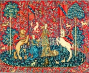 Margot de Paris Tapestry/Needlepoint – Lady and the Unicorn