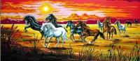 Margot de Paris Tapestry/Needlepoint Canvas –  The Herd