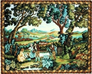 Margot de Paris Tapestry/Needlepoint Canvas – Greenery in the Muleteer