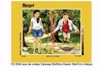 Margot de Paris Tapestry/Needlepoint - Skipping