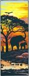 Margot de Paris Tapestry/Needlepoint Canvas – Sun on the Savannah
