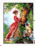 Margot de Paris Tapestry/Needlepoint Canvas – The Figure of Love