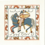 Norman Conquest by Lesley Teare- 14 count Counted Cross Stitch Kit