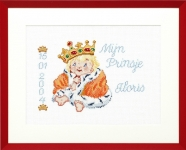 Pako Counted Cross Stitch Kit - Little Prince/Princess Birth Record