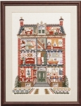 Pako Counted Cross Stitch Kit - The Dolls House