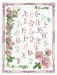 Princesse Freestyle Embroidery Kit – A B C Roses Sampler (ABC aux Roses)