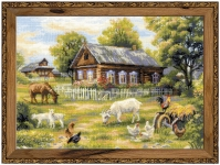 Riolis Counted Cross Stitch Kit - Afternoon in the Country