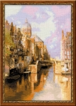 Riolis Counted Cross Stitch Kit - Amsterdam after Klinkenerg
