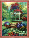 Riolis Counted Cross Stitch Kit - Floral Arbor