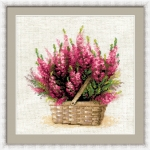 Riolis Counted Cross Stitch Kit - Scottish Heather