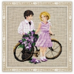 Riolis Counted Cross Stitch Kit - Spring Walk