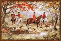 Riolis Counted Cross Stitch Kit - The Hunt
