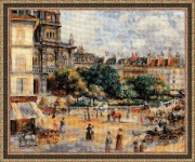 Riolis Counted Cross Stitch Kit - Troitsy Square, Paris