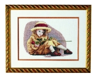 Royal Paris Cross Stitch Picture Kit - Rosemary