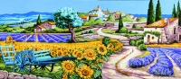 Royal Paris Tapestry/Needlepoint - Gentle Provence