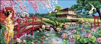 Royal Paris Tapestry/Needlepoint - Japanese Splendour