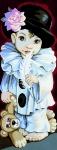 Royal Paris Tapestry/Needlepoint - Pierrot de Pio