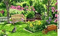 Royal Paris Tapestry/Needlepoint - Side Garden