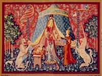 Royal Paris Tapestry/Needlepoint - The Lady and the Unicorn