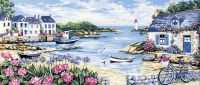 Royal Paris Tapestry/Needlepoint - West Country Scene