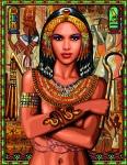 Royal Paris Tapestry/Needlepoint Canvas - Egyptian Princess