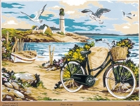 SEG de Paris Tapestry/Needlepoint – A Day at the Beach