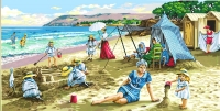 SEG de Paris Tapestry/Needlepoint – A Day on the Beach