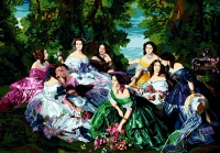 SEG de Paris Tapestry/Needlepoint – Eugenie and her Ladies of Honor