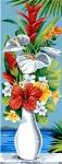 SEG de Paris Tapestry/Needlepoint – Exotic Vase