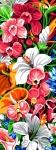 SEG de Paris Tapestry/Needlepoint – Exotic Wall of Flowers
