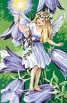 SEG de Paris Tapestry/Needlepoint – Fairy and the Bluebells