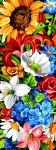 SEG de Paris Tapestry/Needlepoint – Floral Wall