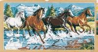 SEG de Paris Tapestry/Needlepoint – Galloping Horses